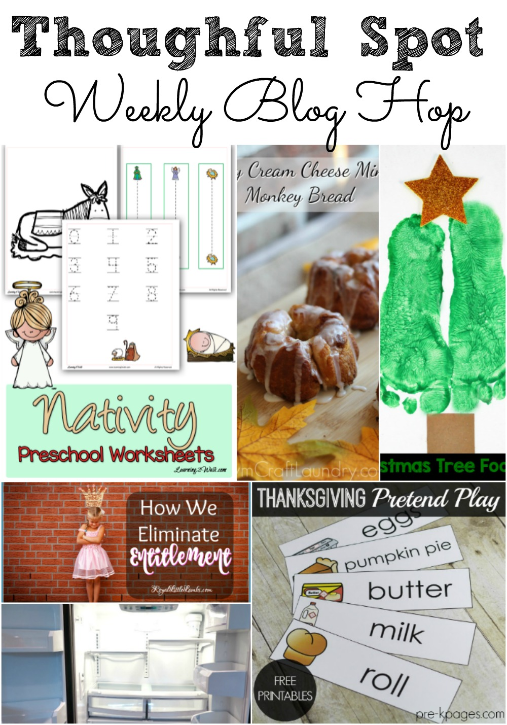 Thoughtful Spot Weekly Blog Hop! Family Friendly crafts, recipes, DIY's, Parenting and Homeschooling Tips.
