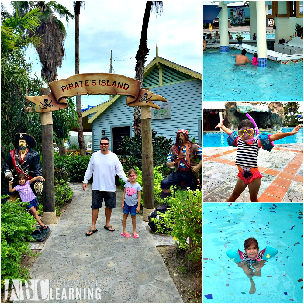 Family Memories at Beaches Turks & Caicos Resort Villages & Spa Pool