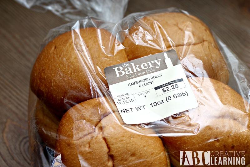 Easy Crockpot Chicken Sandwich bread