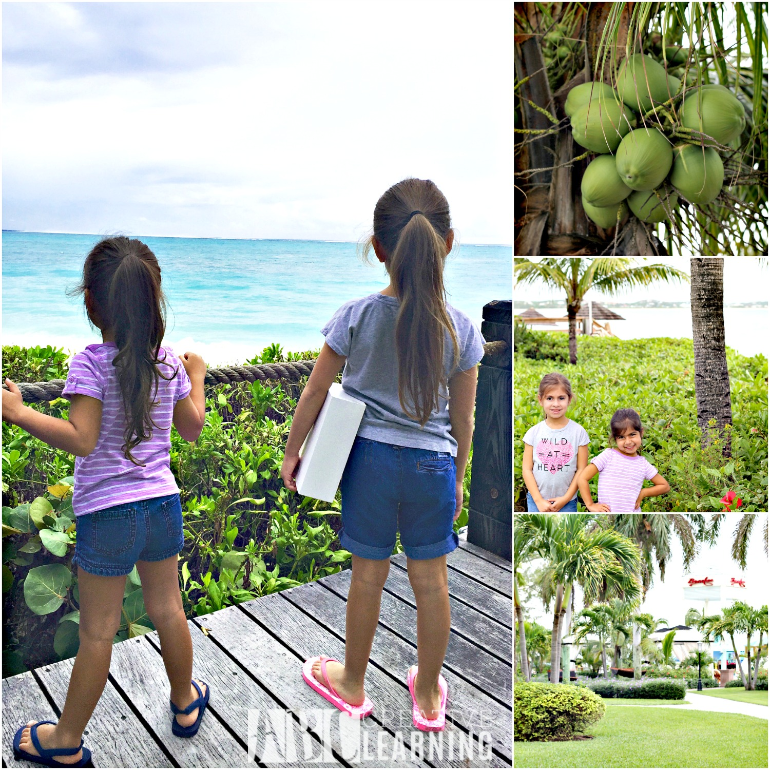 Family Memories at Beaches Turks & Caicos Resort Villages & Spa girls