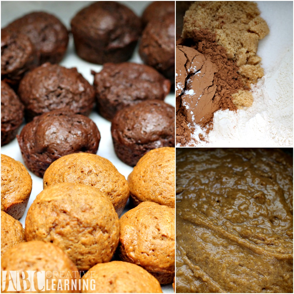 Gingerbread and Chocolate Glazed Donut Holes ingredients