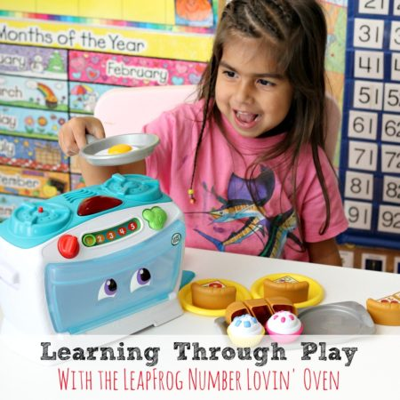 Learning Through Play with the LeapFrog Number Lovin' Oven