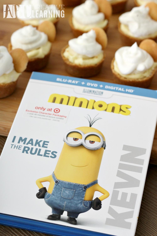 Mini Banana Cream Pie Minions Movie
