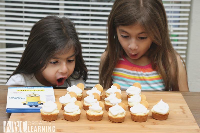 Mini Banana Cream Pie Surprise