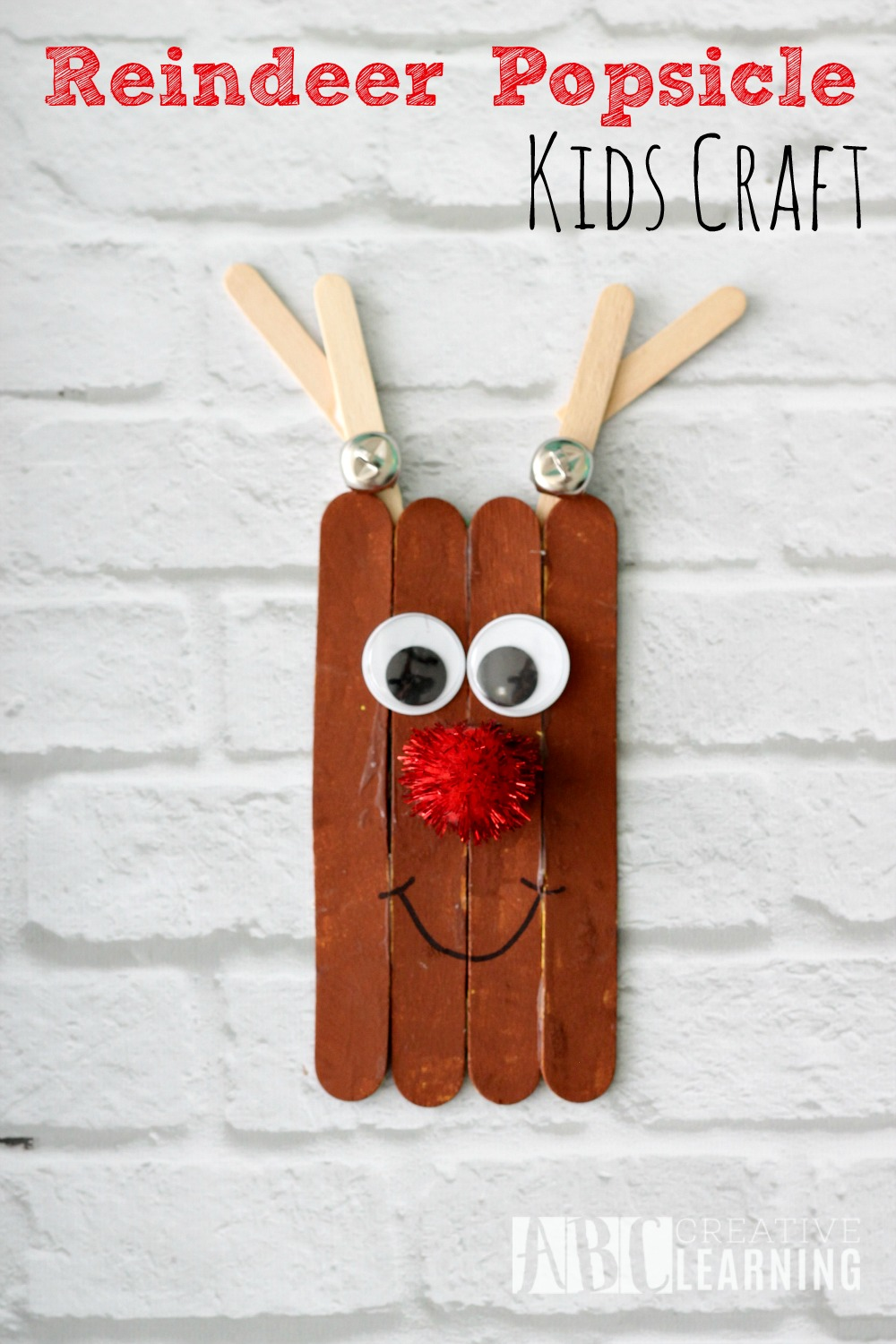 Reindeer Popsicle Craft