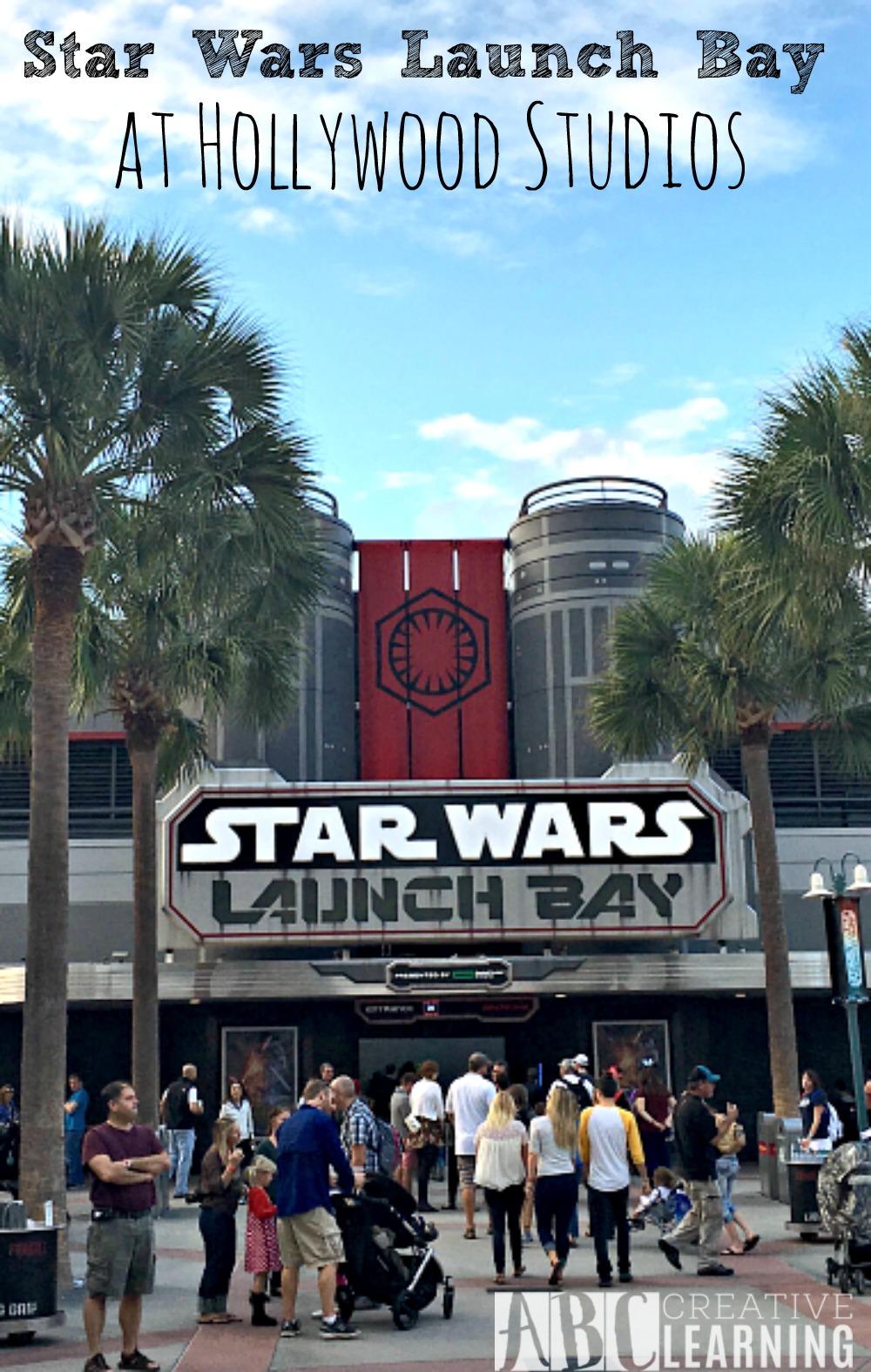 Star Wars Launch Bay at Hollywood Studios Disney