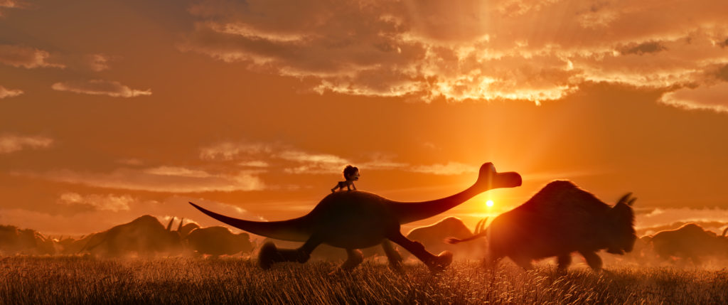 THE GOOD DINOSAUR - Pictured: Spot and Arlo. ©2015 Disney•Pixar. All Rights Reserved.