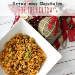 Traditional Arroz con Gandules for the Holidays