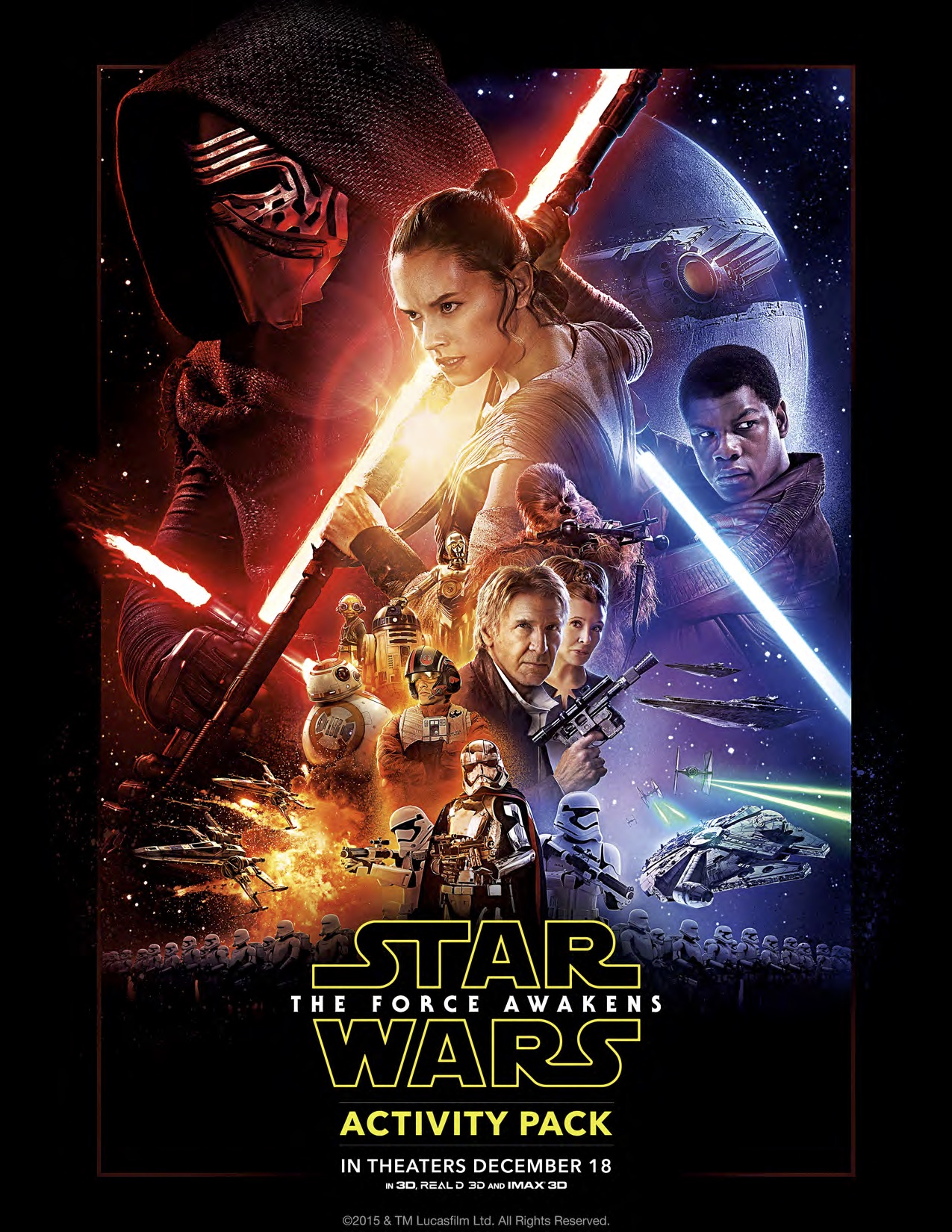 Star Wars: The Force Awakens Coloring and Activity Sheets #StarWars
