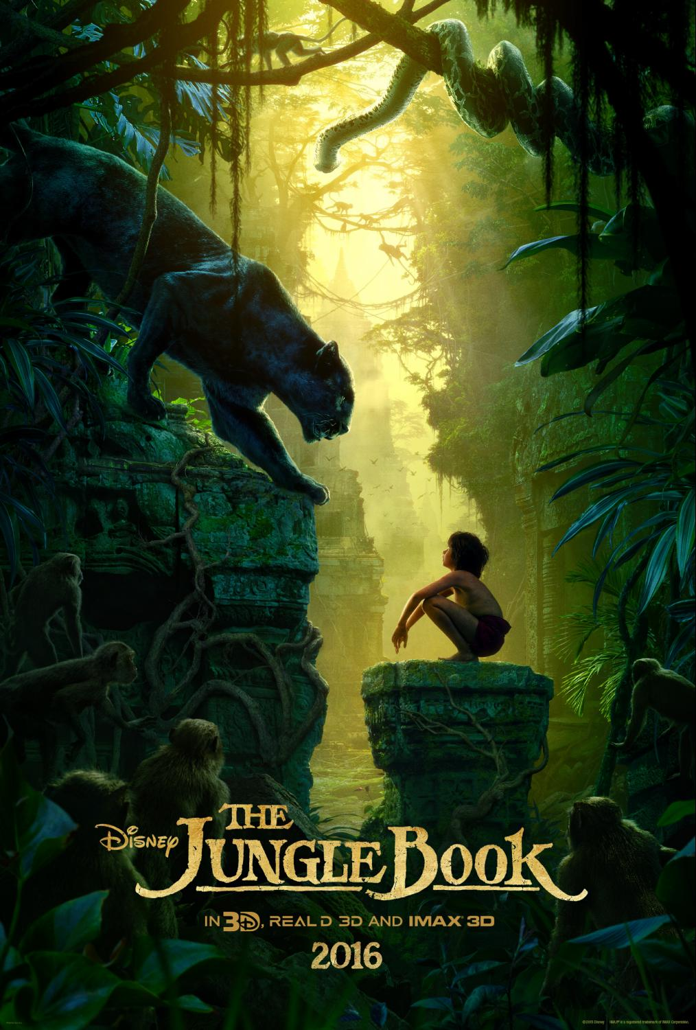 Disney's The Jungle New Clips and Featurette #JungleBookEvent