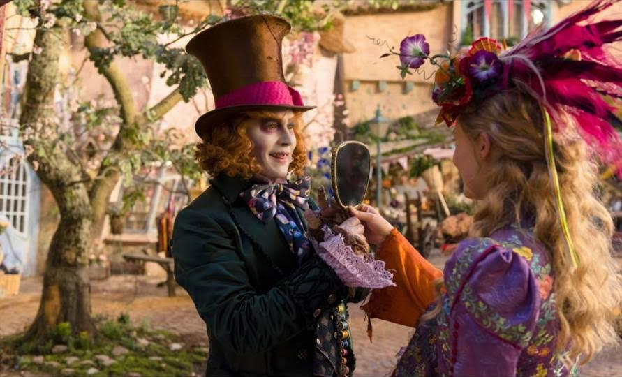 2016 Disney Movies and Trailers Alice Through the Looking Glass 2
