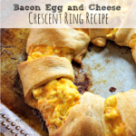 Bacon Egg and Cheese Crescent Ring Recipe