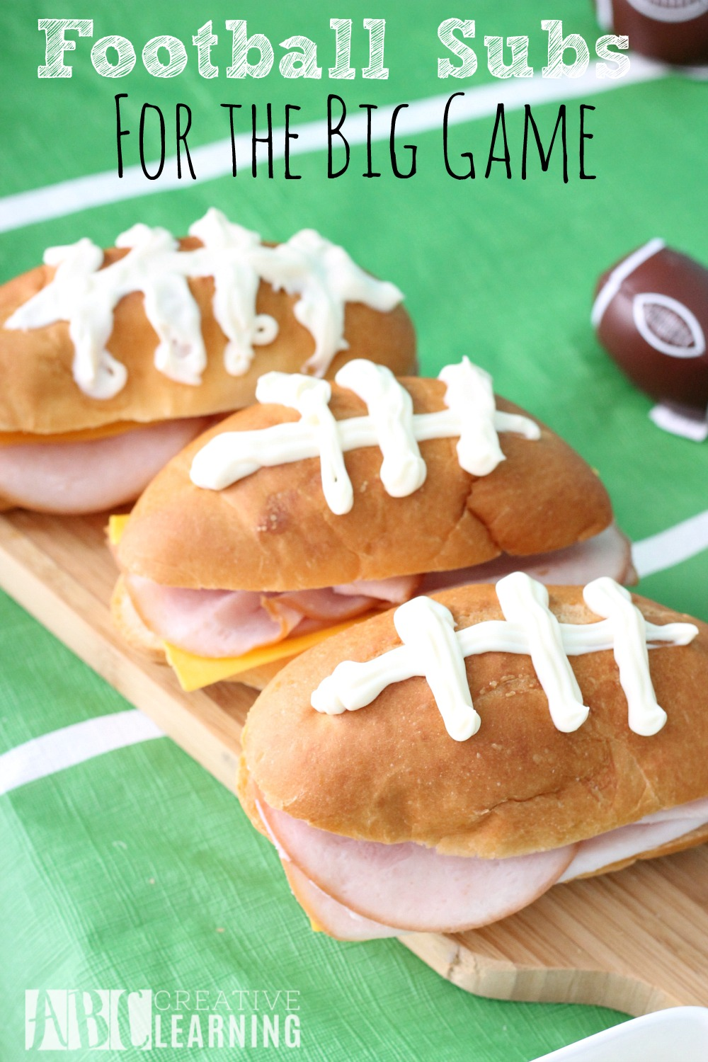 Family Friendly Themed Football Party Football Subs