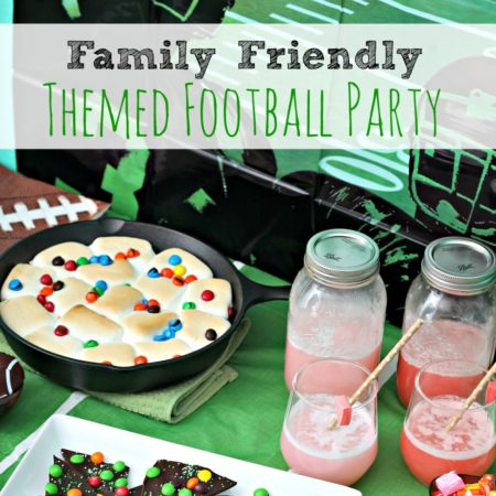 Family Friendly Themed Football Party