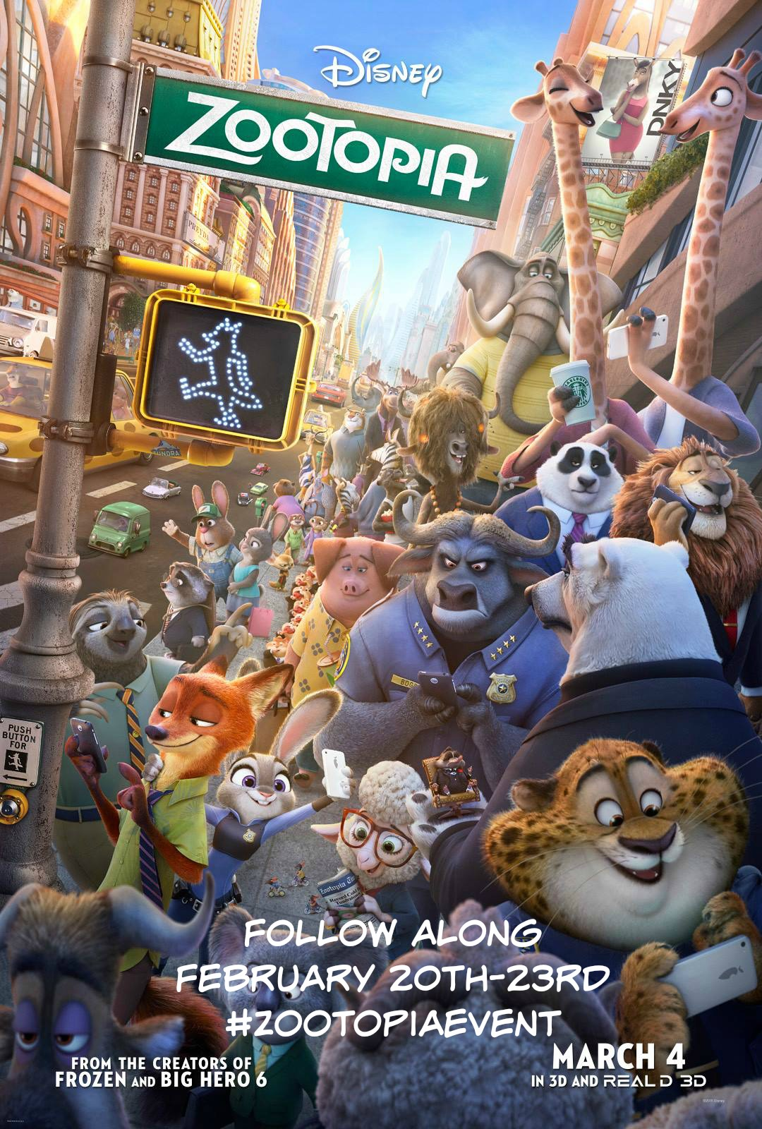 More Fun #Zootopia Trailers