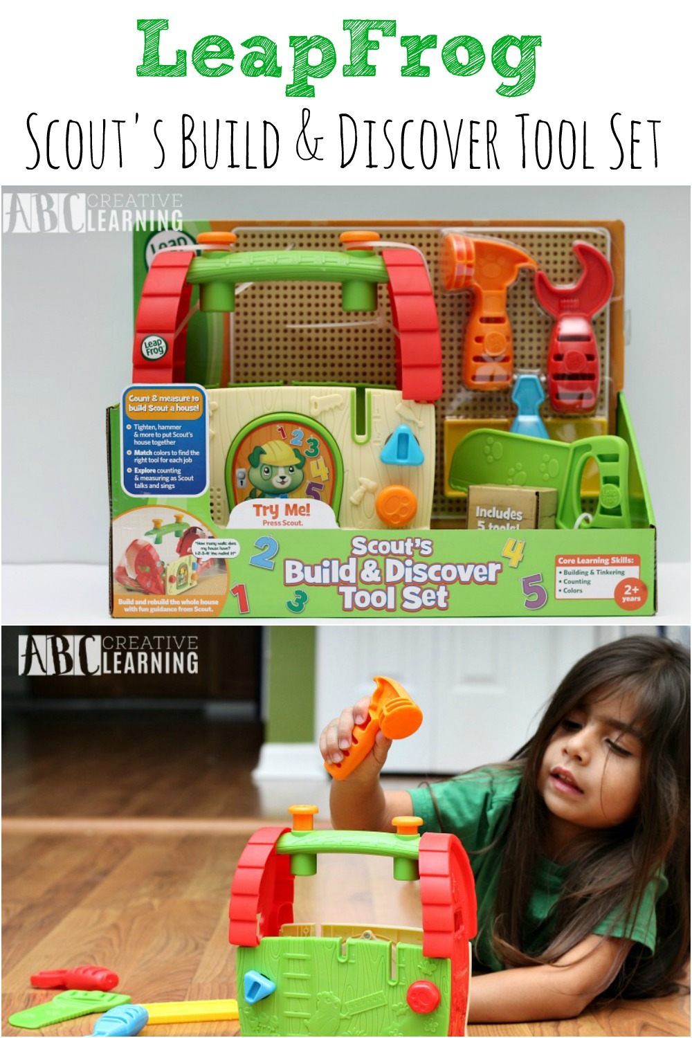 LeapFrog Scout's Build & Discover Tool Set P