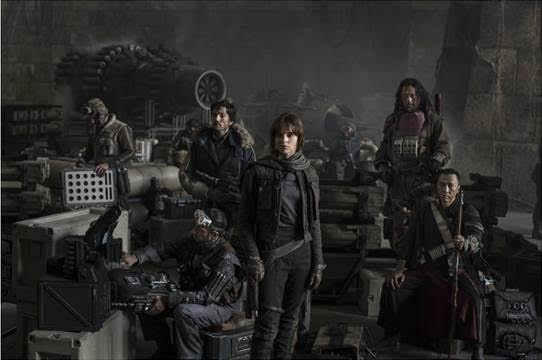 2016 Disney Movies and Trailers Rogue One