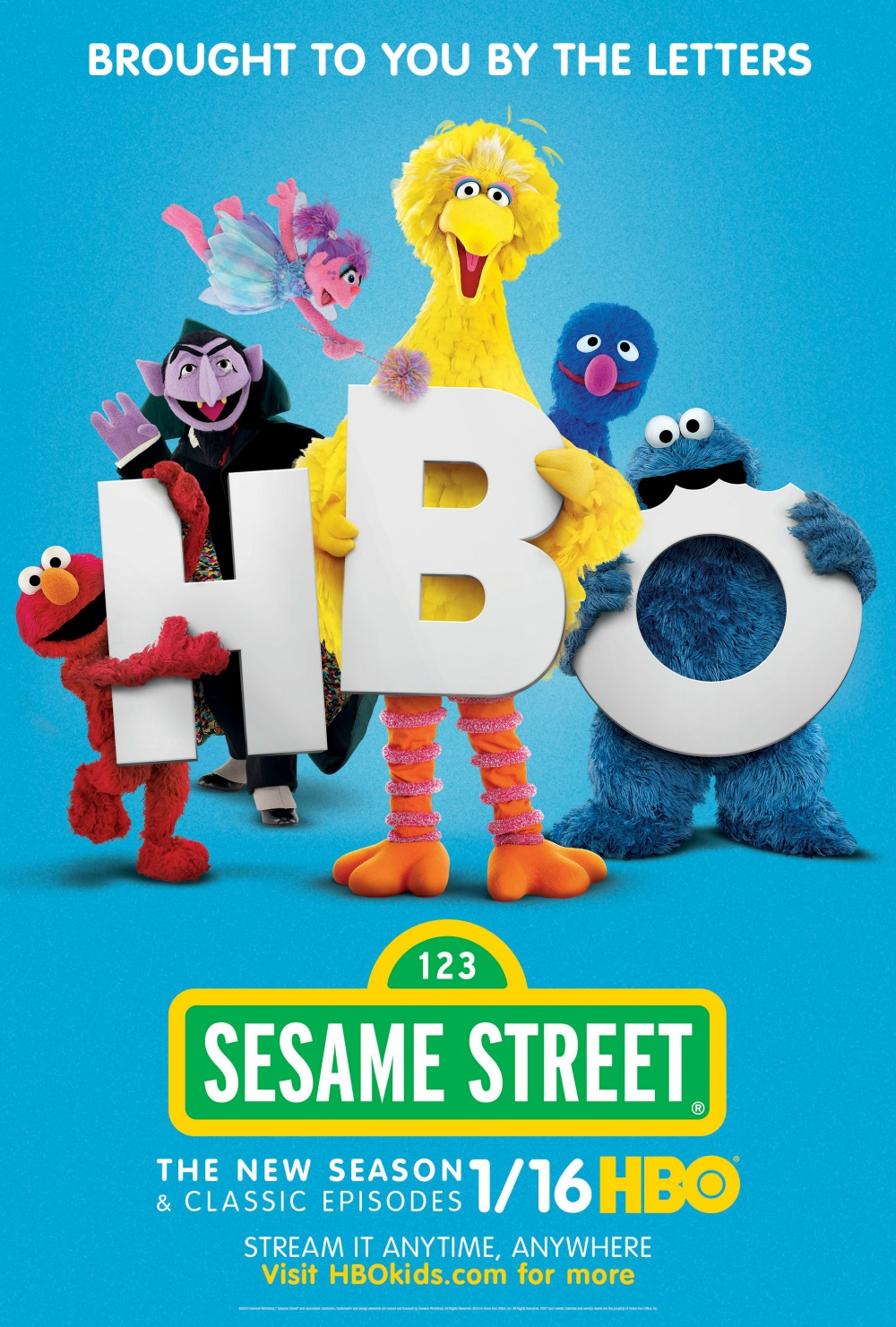 Sesame Street on HBO