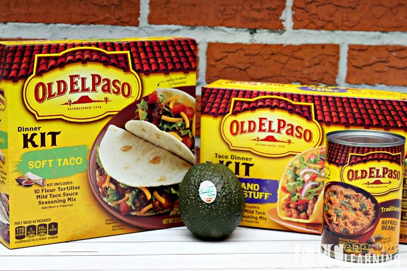 Sweet and Spicy Guacamole Shrimp Tacos Old El Paso