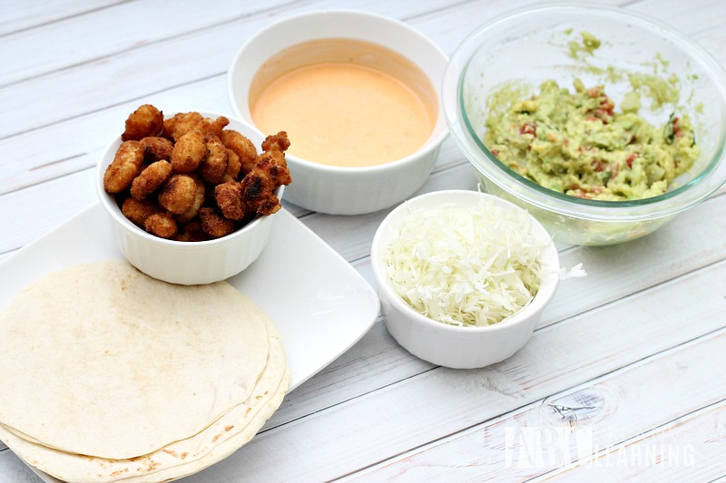 Sweet and Spicy Guacamole Shrimp Tacos Taco Bar