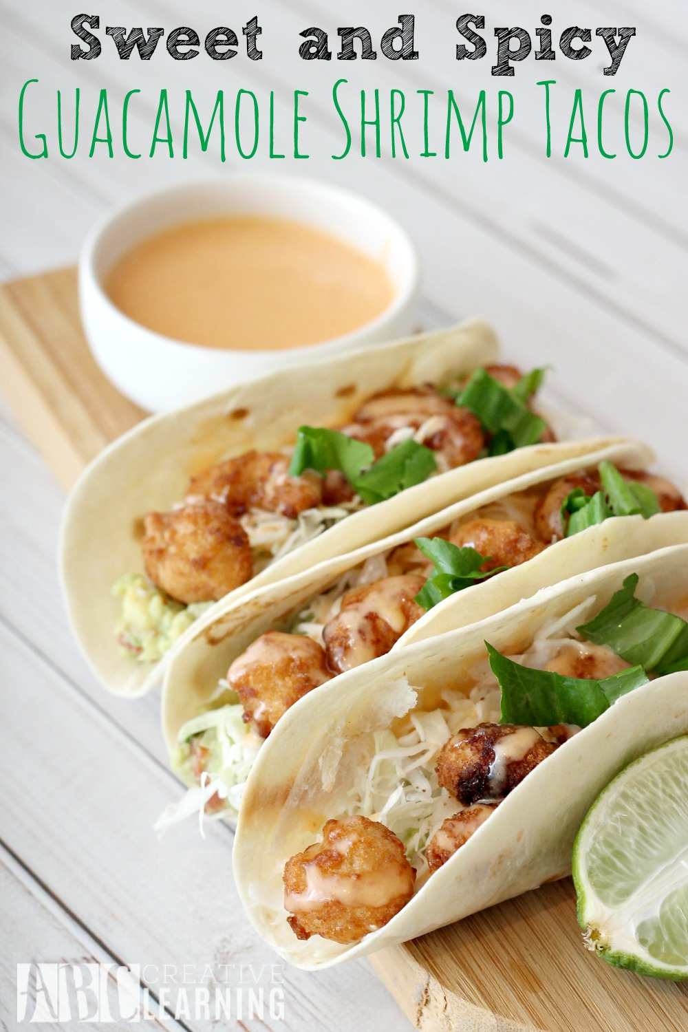 Sweet and Spicy Shrimp Tacos
