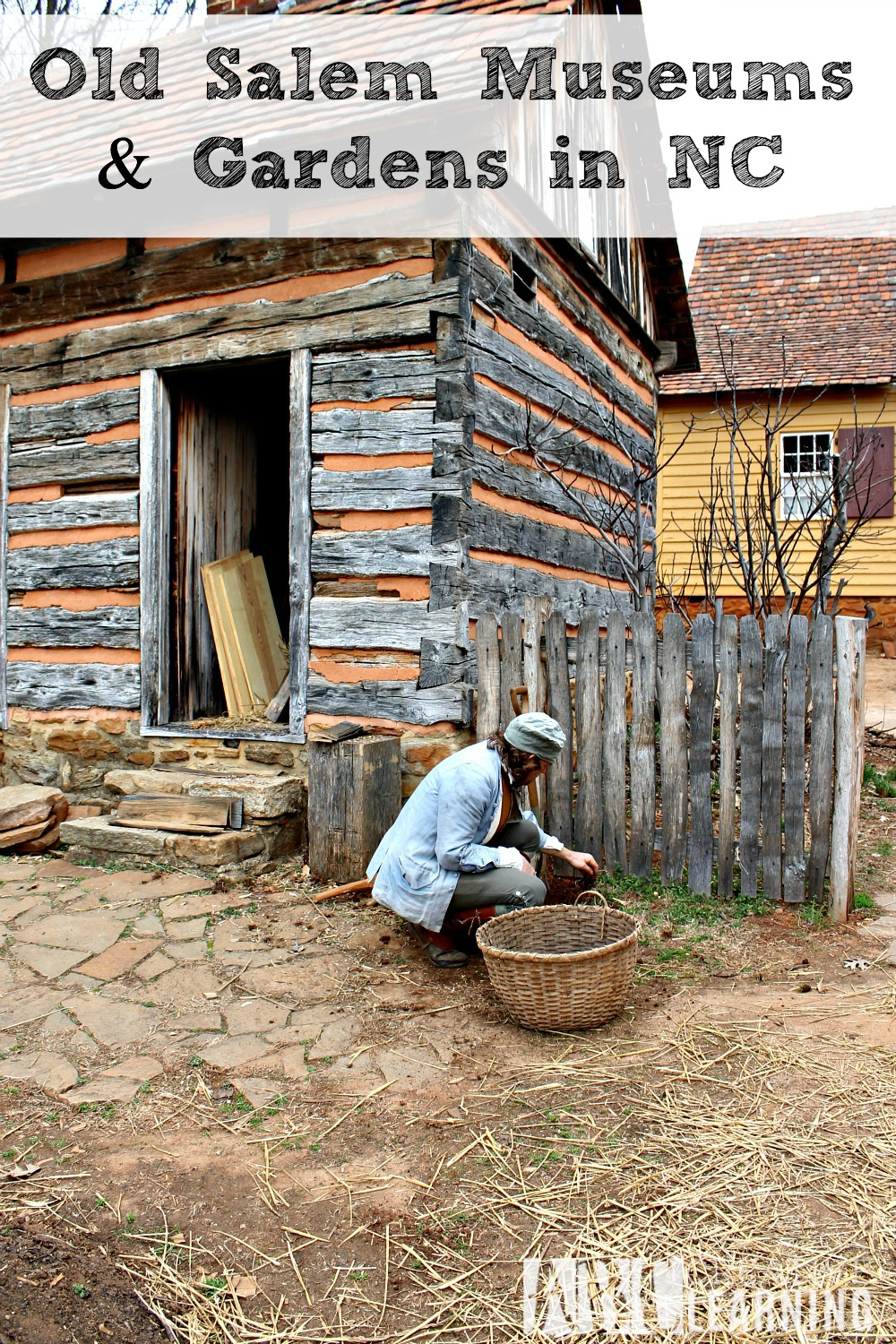 Visiting Old Salem Museums & Gardens in NC - abccreativelearning.com
