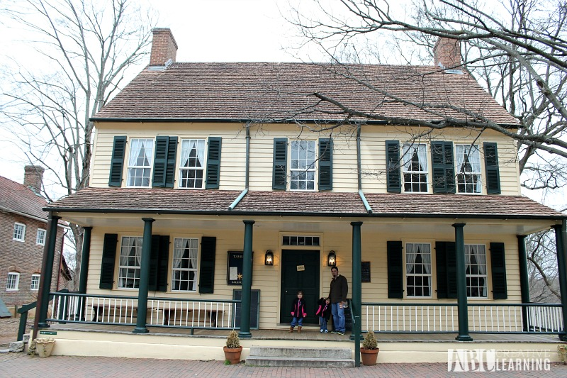 Visiting Old Salem Museums & Gardens in NC The Tavern in Old Salem