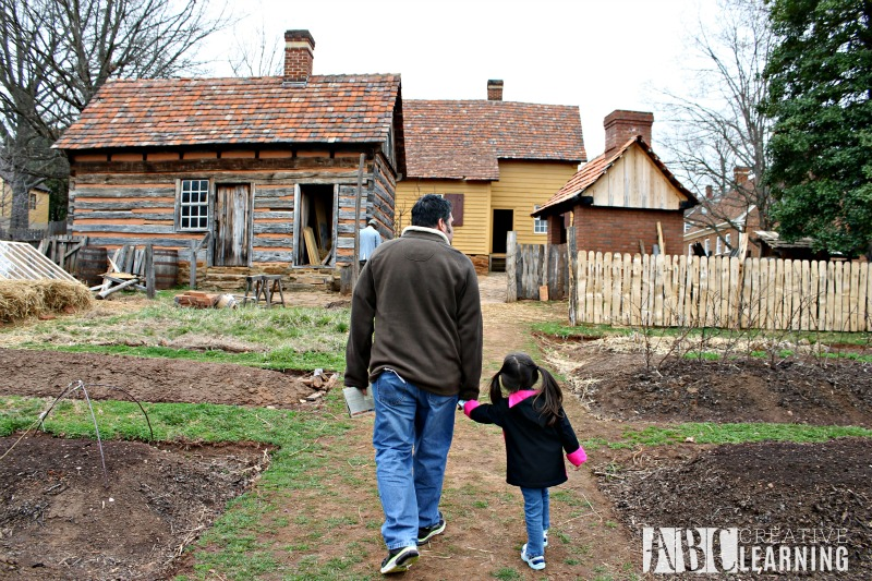Visiting Old Salem Museums & Gardens in NC gardens