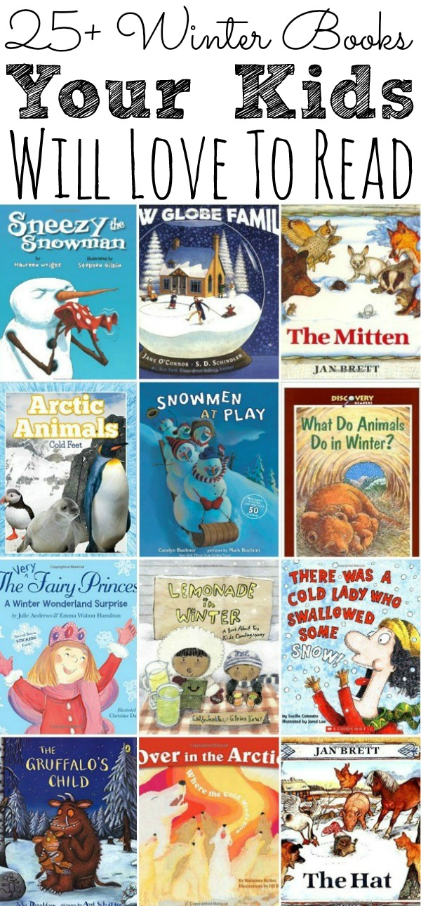 Winter Books Your Kids Will Love To Read