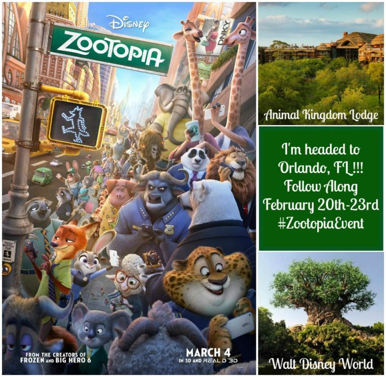 I'm Headed To The Zootopia Event At Disney In February
