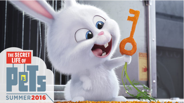 Meet Snowball The Secret Life of Pets #TheSecretLifeOfPets