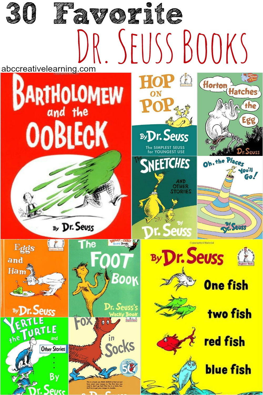30 Favorite Dr. Seuss Books