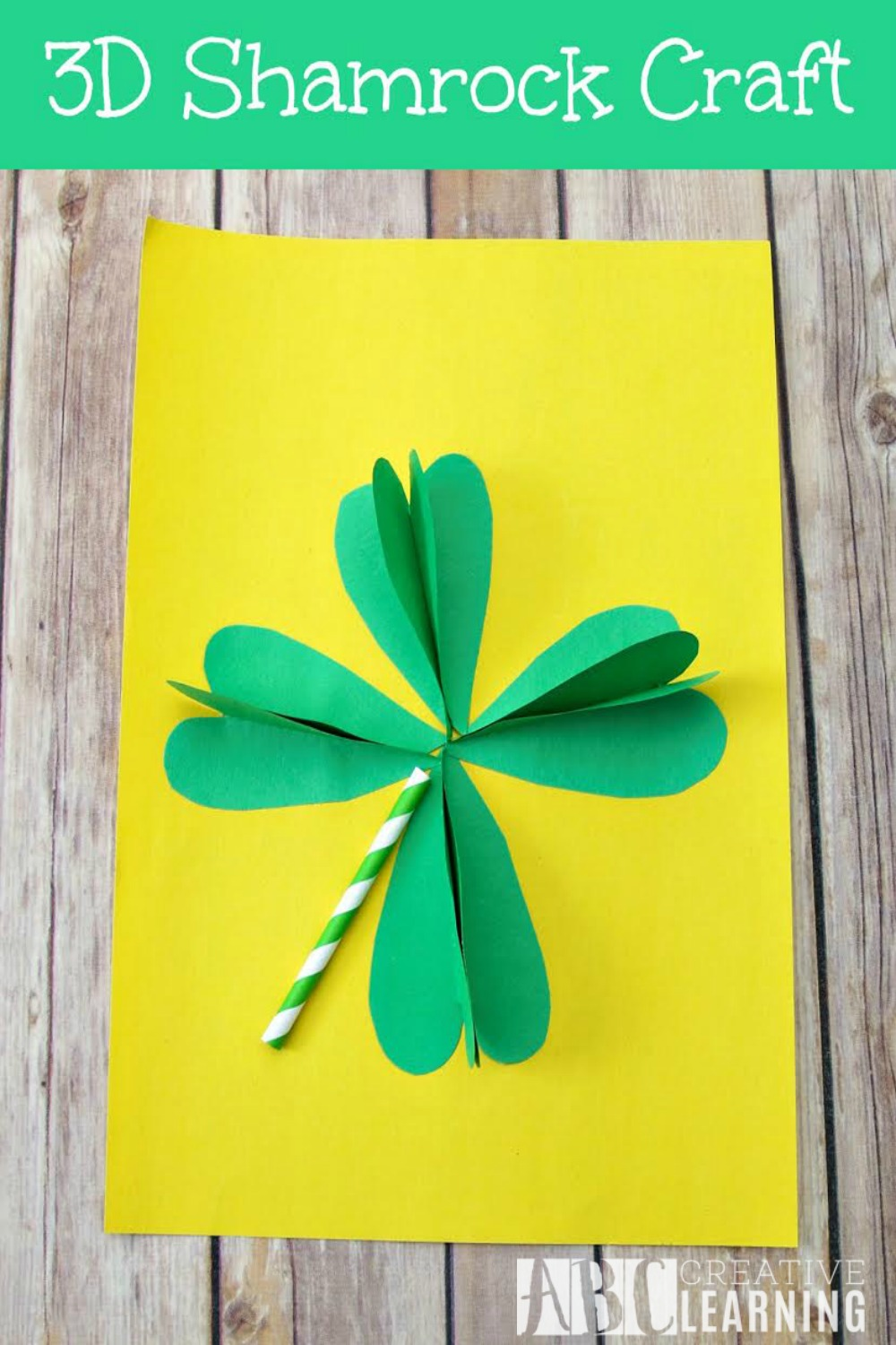 3D Shamrock Crafts