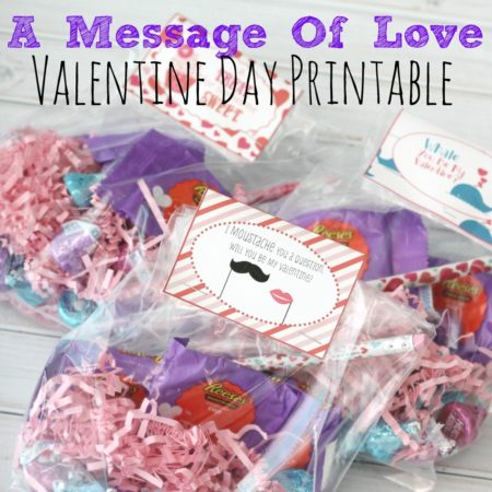 A Message of Love Free Valentine Day Printable