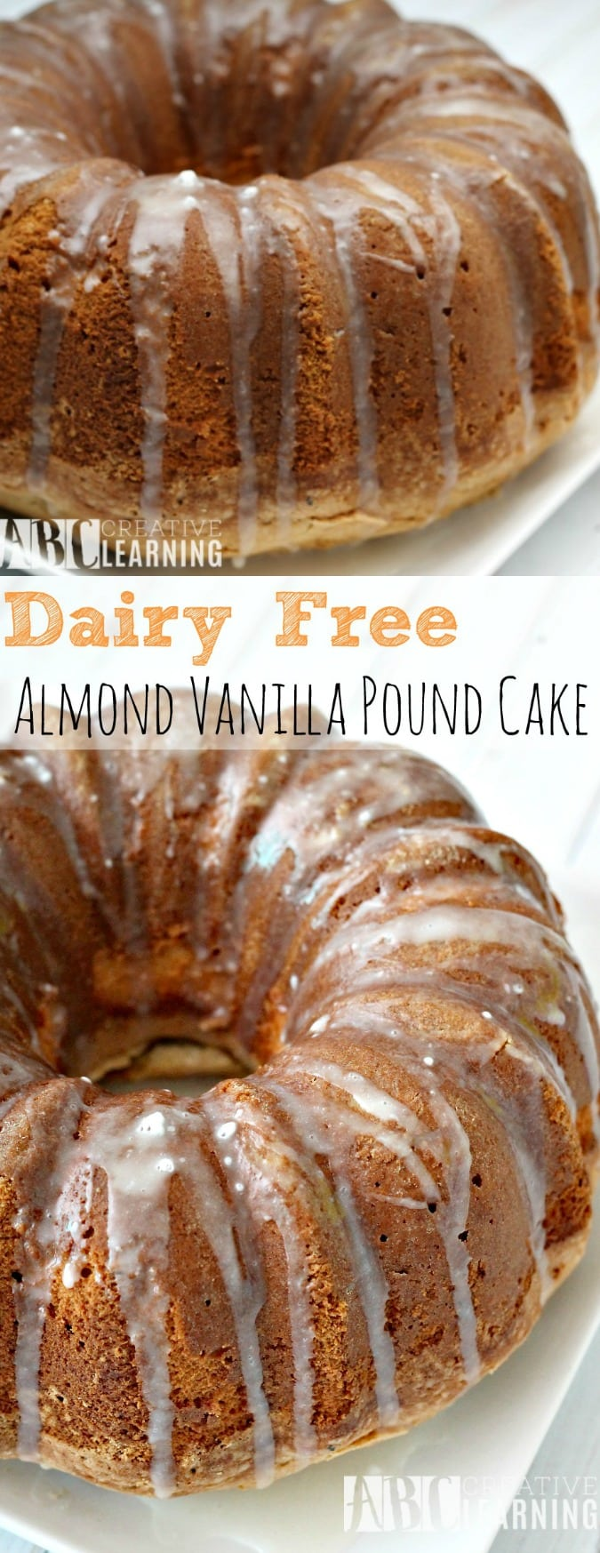 Almond Milk Pound Cake