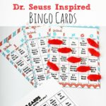 Dr. Seuss Inspired Bingo Cards