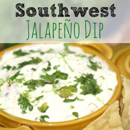Southwest Jalapeño Dip