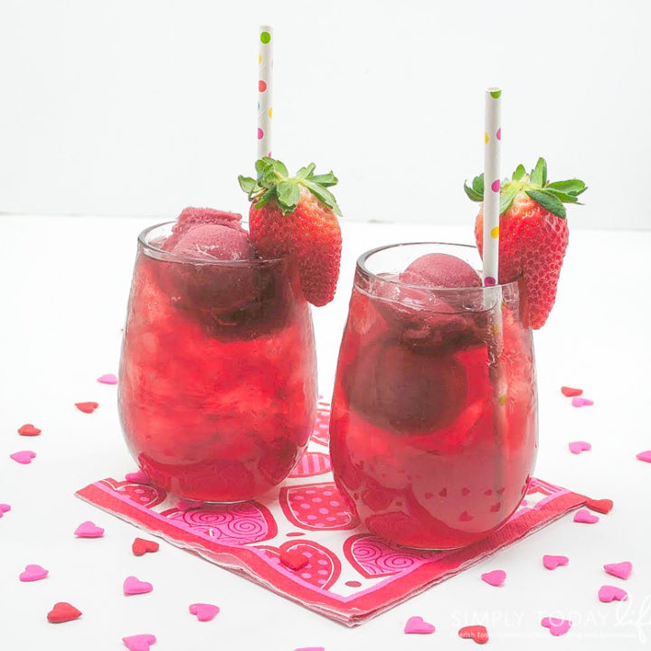 Valentine's Day Berry Punch Recipe