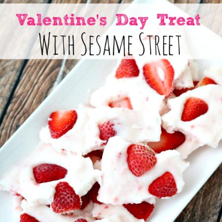 Valentine's Day Treat with Sesame Street