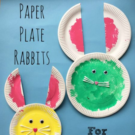 Paper Plate Rabbits