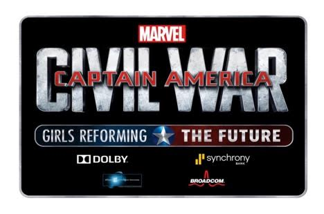 "Marvel's CAPTAIN AMERICA: CIVIL WAR – ""Girls Reforming the Future Challenge"