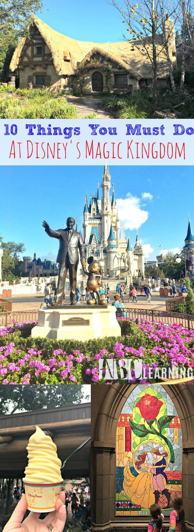 10 Things You Must Do At Disney's Magic Kingdom