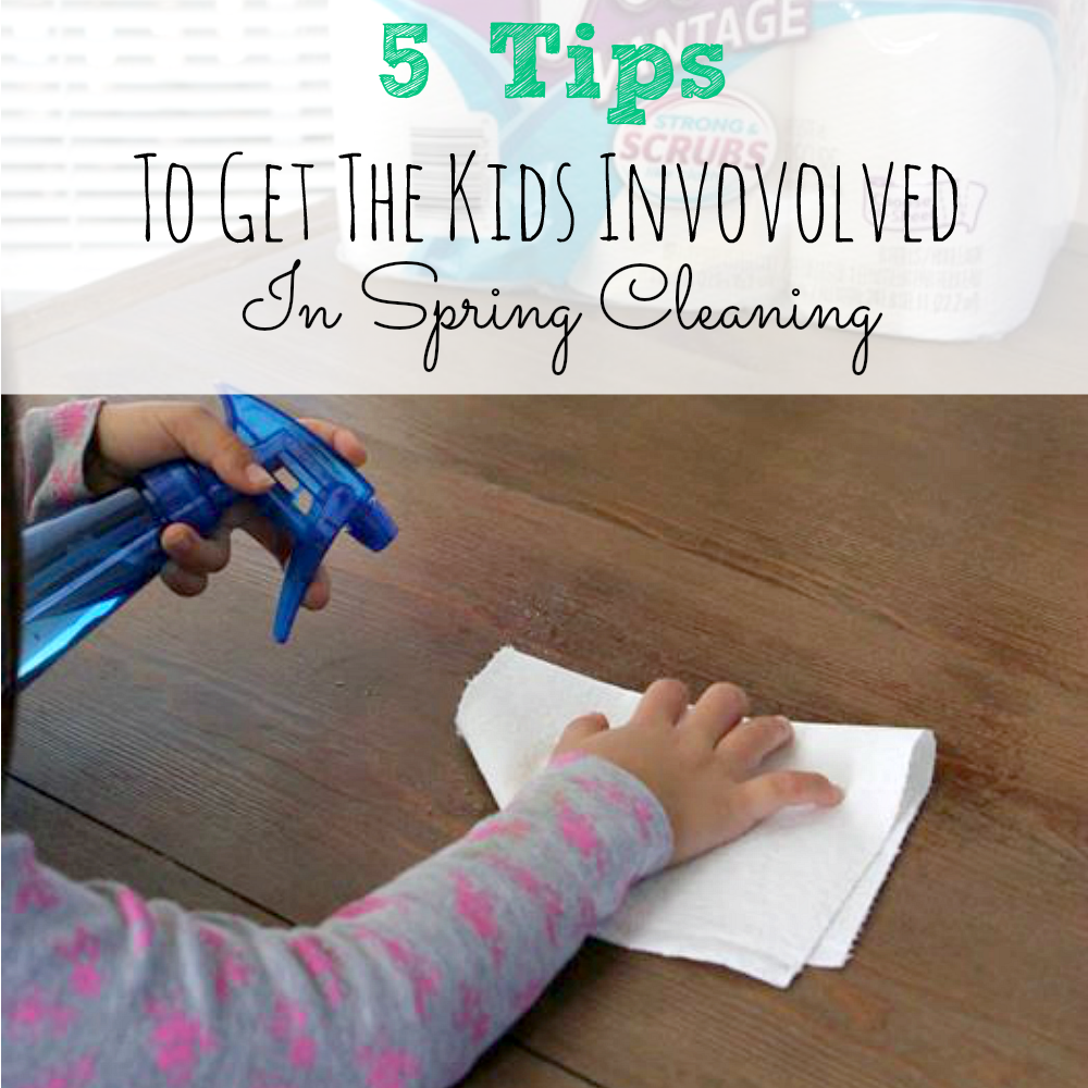 5 tips to get the kids involved in spring cleaning simply today life - Five home easy cleaning tips ...