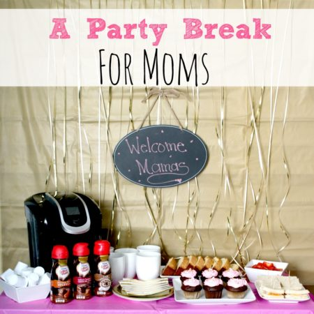 A Party Break For Moms