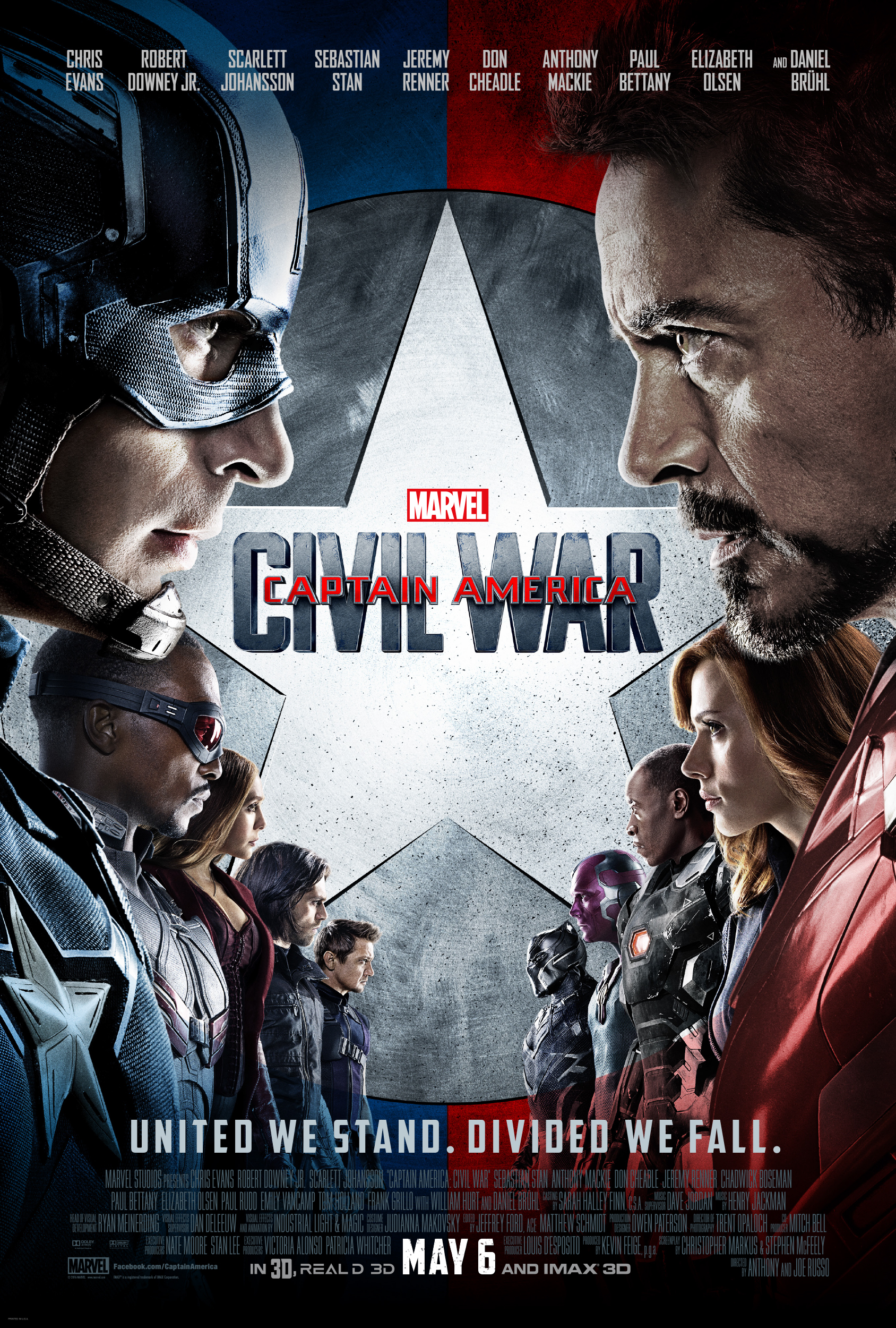 Marvel's Captain America: Civil War Poster and Trailer Are Here #CaptainAmericaCivilWar