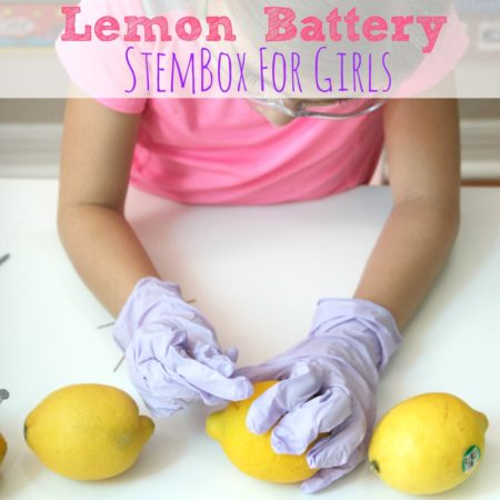Lemon Battery StemBox For Girls