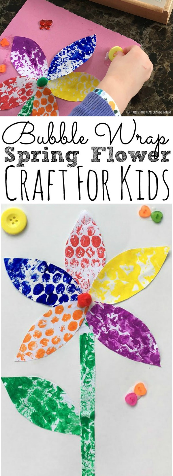 Spring Flower Craft For Kids