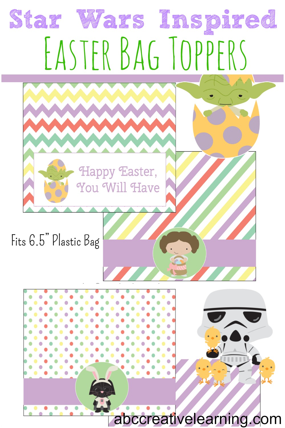 Star Wars Easter Bag Toppers