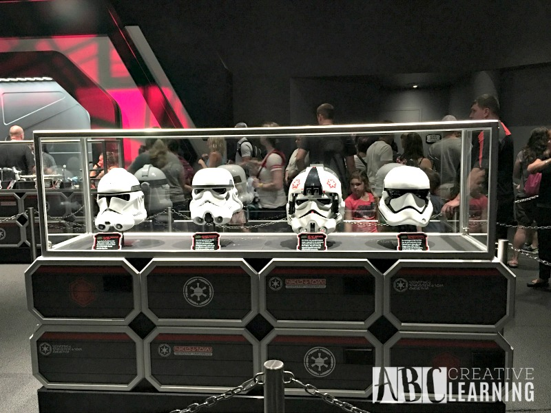 The Force Is Strong At Disney's Hollywood Studios helmets