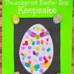 Thumbprint Easter Egg Keepsake